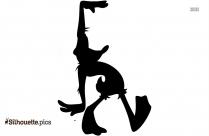 Daffy Silhouette Wallpaper