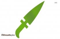 Dagger Weapon Silhouette Printable
