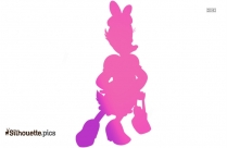 Winnie The Pooh And Friends Silhouette Background