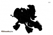 Black And White Olive Silhouette