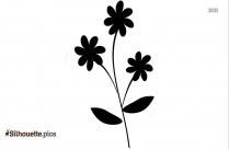 Grass Silhouette Flower