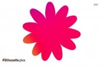 Free Ranunculus Flowers Silhouette