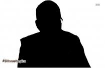 Dalai Lama Silhouette
