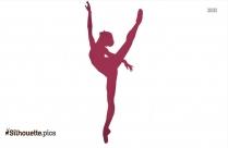 Dance Movement Silhouette Image
