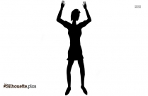 Dance Pose Silhouette Vector And Graphics