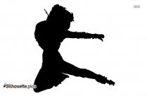 girl ballerina silhouette