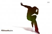 Dancer Pose Clipart || Breakdance Silhouette