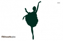 Dancer Silhouette Drawing