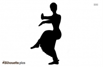Japanese Dance Silhouette Vector And Graphics