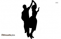Dancing Couple Silhouette Clipart