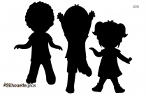 Dancing Friends Clip Art Silhouette