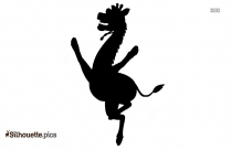 Giraffe Toy Illustration Silhouette