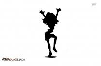 Girl Dancing Wallpaper Silhouette