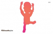 Dancing Man Silhouette Background Image