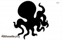Octopus Silhouette Vector