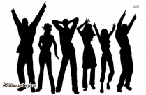 Dancing Silhouette Drawing