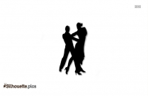 Dancing Silhouette Painting
