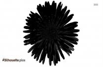 Dandelion Flowers Symbol Silhouette