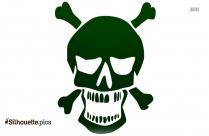 Skull Cigar Silhouette Picture