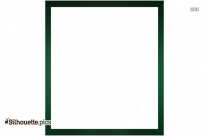 Dark Green Border Frame Silhouette Image And Vector