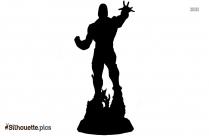 Darkseid Silhouette Drawing