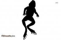 Wild Frog Silhouette Icon