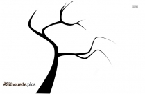 Fallen Tree Vector Silhouette
