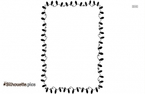 Decorative Border Design Silhouette