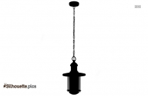 Decorative Hanging Lights Silhouette Picture