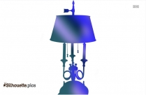 Vintage Lamp Silhouette