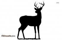 Deers Silhouette Drawing