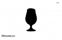 Delirium Tremens Snifter Glass Silhouette
