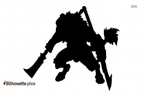Demon Gnoll Silhouette Image And Vector