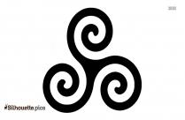 Leo Symbol Tattoo Silhouette