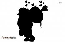 Tigger And Roo Silhouette Illustration