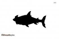 Shark Mermaid Silhouette