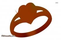 Diamond Silhouette Ring
