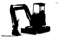 Digger Silhouette And Vector
