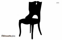 Club Chair Silhouette Drawing