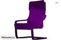 Elders Rocking Chair Silhouette Free Vector Art