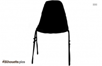 Dinning Chair Silhouette Illustration