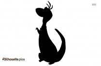 Dino Flintstones Silhouette