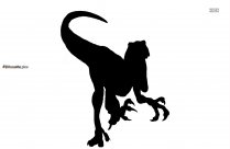 Black Indian Lion Silhouette Image
