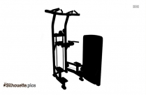 Rear Delt Lift Silhouette Vector And Graphics