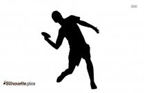 High Jump Symbol Silhouette