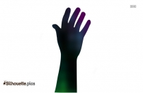 Finger Hand Cartoon Silhouette Image And Vector