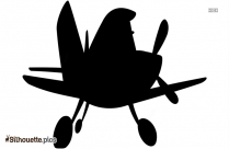 Disney Airplane Silhouette Drawing