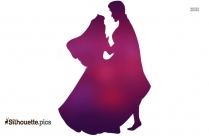 Disney Aurora And Phillip Silhouette Image