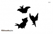Disney Birds Silhouette Vector