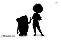 Cartoon Winnie The Pooh Characters Silhouette